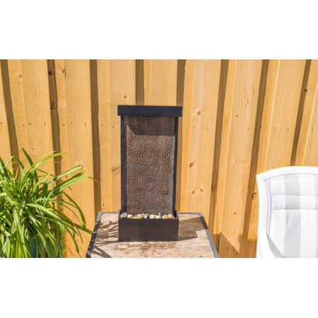 Kenroy Home Forged Water Tabletop or Wall Bronze Fountain