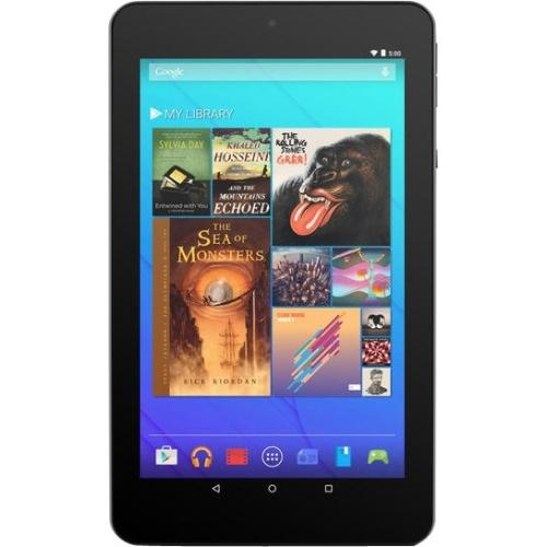 """Ematic 7"""" HD Quad-Core Multi-Touch Tablet with Android 5.0, Lollipop - Purple"""