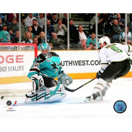 Mike Modano 511th NHL Goal All-time leading US Born Scorer 2007-08 Photo