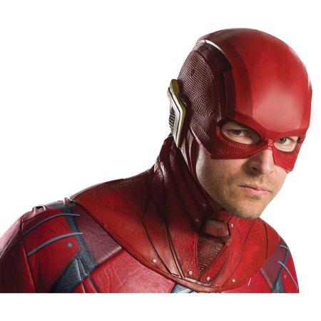 Adult The Flash Overhead Latex Mask Halloween Costume Accessory - Flash Mask