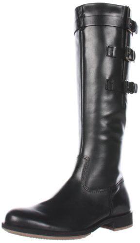 ECCO Women's Saunter GTX Tall 3 Buckle Flat Boot by Ecco