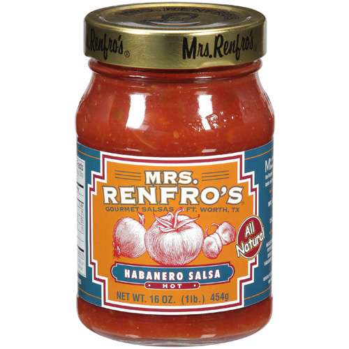 Mrs. Renfro's Hot Habanero Salsa, 16 oz