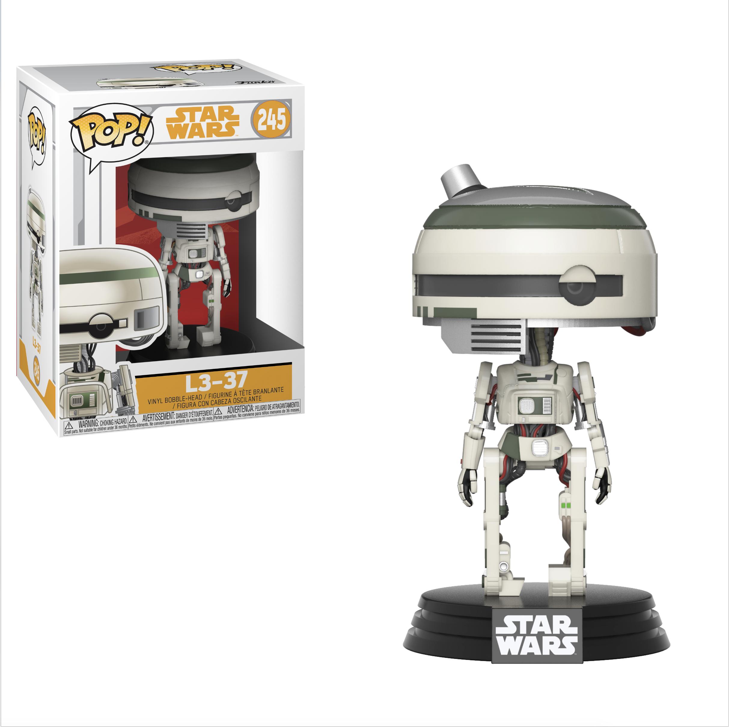 Funko Pop! Star Wars: Solo W1 - L3-37