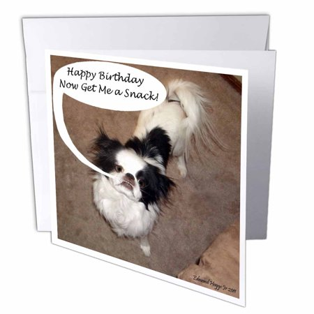 3dRose Japanese Chin Greeting Cards 6 X Inches Set Of