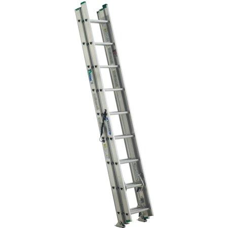 Werner D1224-3 24' Type II Compact Aluminum D-Rung Extension Ladder](werner aluminum work platform black friday)