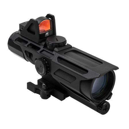 Ncstar Gen3 Uss Scope 3 9X40mm  Mil Dotreticle With Red Dot