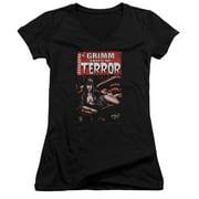 Zenescope Terror Cover Juniors V-Neck Shirt