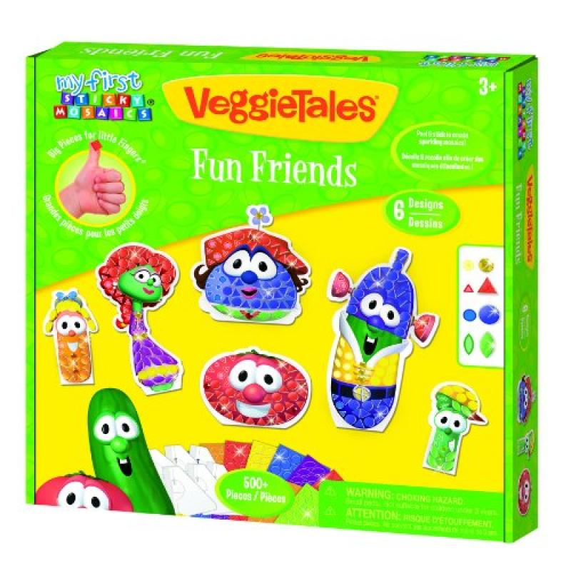 The Orb Factory VeggieTales My First Sticky Mosaics Fun Friends by
