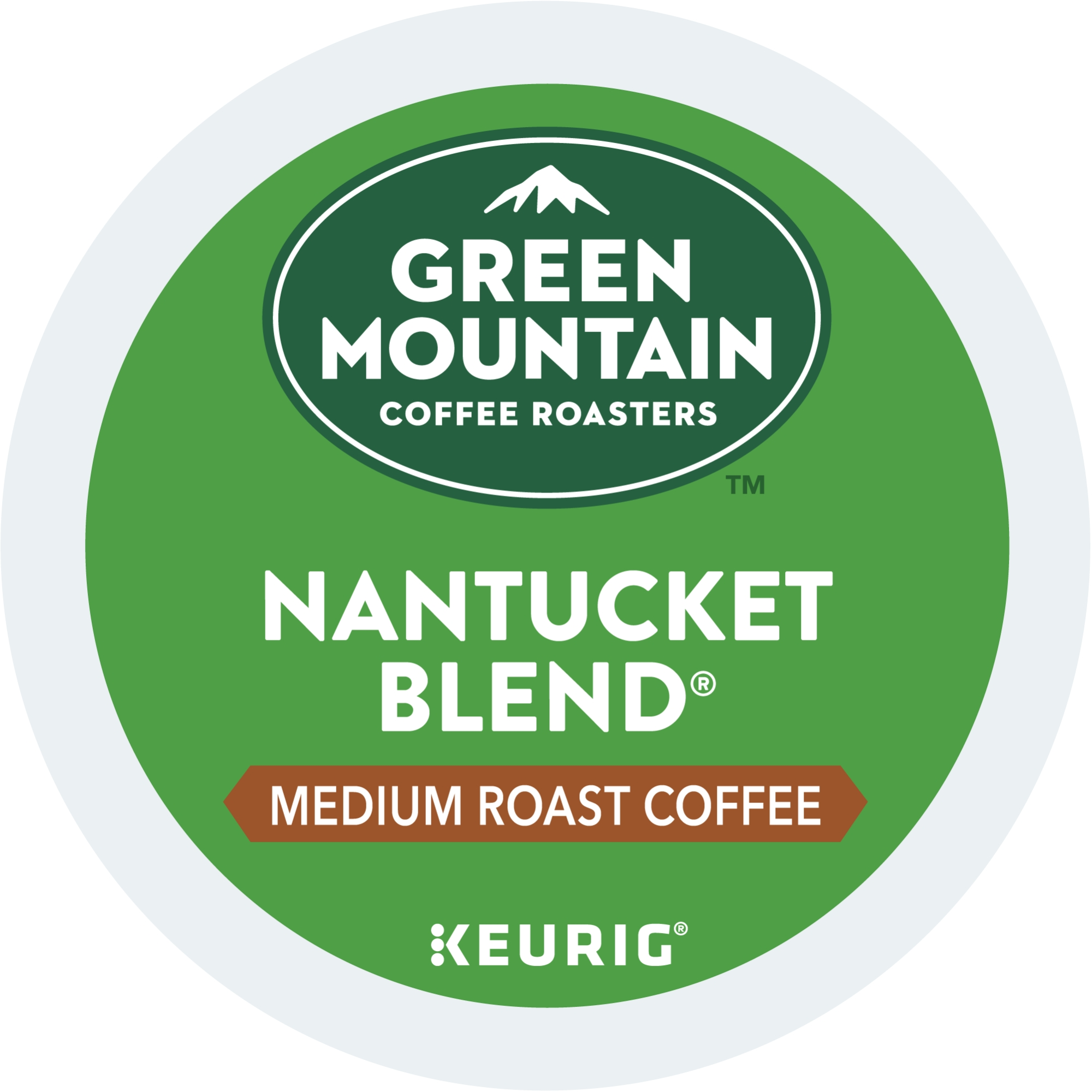 (4 Pack) Green Mountain Coffee Nantucket Blend, Keurig K-Cup Pods, Medium Roast, 18 Count