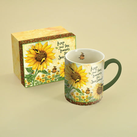LANG SUNFLOWERS 14 OZ MUG