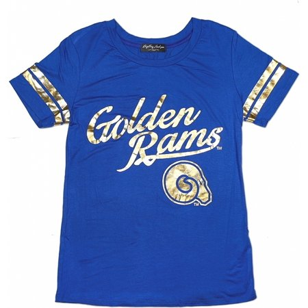 Big Boy Albany State Golden Rams S2 Ladies Jersey Tee [Royal Blue - 2XL]
