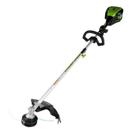 Greenworks 16-Inch PRO 80V Cordless String Trimmer (Attachment Capable), Battery Not... by Sunrise Global Marketing, LLC