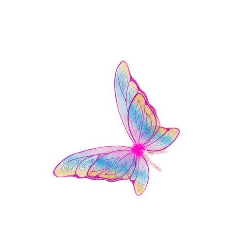 Creative Education Sales USA, Inc. Rainbow Wings in Fuchsia Glitter