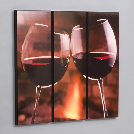 wilson studios red wine cheers 3 piece photographic print set. Black Bedroom Furniture Sets. Home Design Ideas