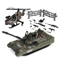 Kid Connection Military Tank Play Set, 21 Pieces