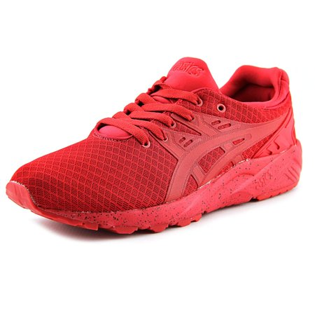 buy popular 9596e 572ab Asics Gel-Kayano Trainer EVO Men Round Toe Synthetic Red Sneakers