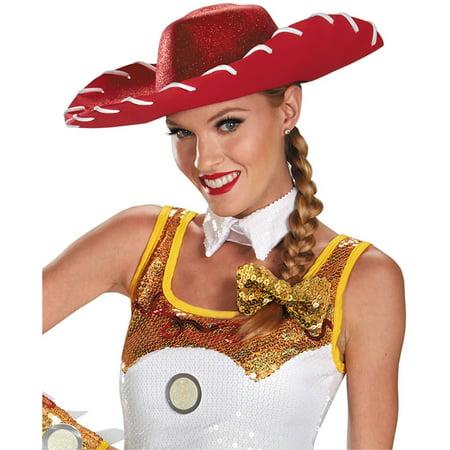 Disney Toy Story Jessie Glam Hat and Bow Set, One Size