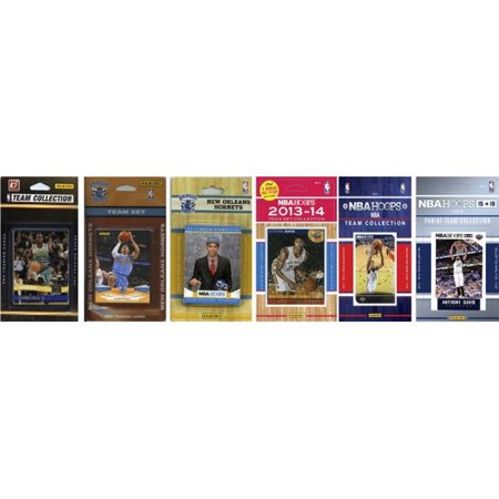C Collectables Nba New Orleans Pelicans 6 Different Licensed Trading Card Team Sets
