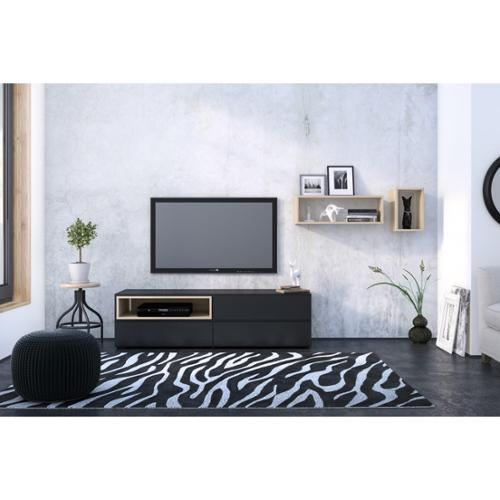 Collage Kit with Avenue 60'' TV Stand & Collage Units