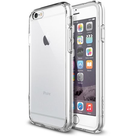low priced 4dd60 2382a Spigen Ultra Hybrid FX Case for Apple iPhone 6 - Walmart.com