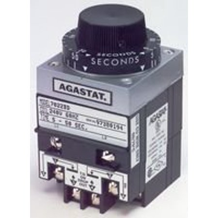 TE Connectivity 7012AE Relay; Electropneumatic; Timing; On Delay; DPDT; Ctrl-V 120/110AC; 20-200 sec.