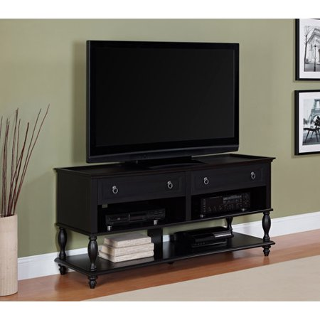Better Homes And Gardens Bailey Lane Estate Black Tv Console For Tvs Up To 60