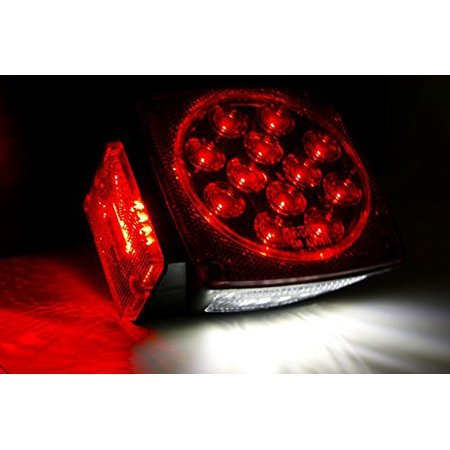 12V LED Trailer Tail Light (Turn/Stop/Signal-Left/Right-DOT Compliant) - image 7 of 8