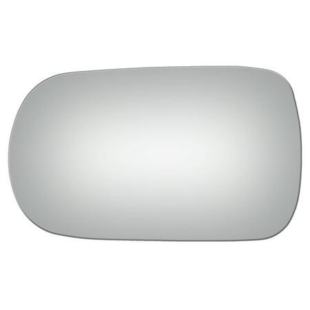 Burco 2562 Left Side Mirror Glass for Infiniti G20, Van, Nissan 240SX, 300ZX