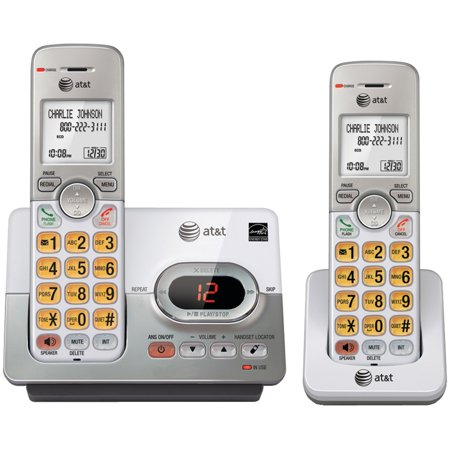 AT&T EL52203 DECT 6.0 2-Handset Answering System With Caller ID & Call (Best Business Answering Machine Messages)