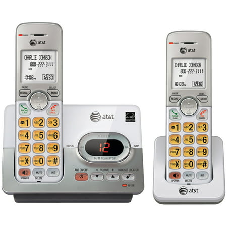 Caller Id Answering System (AT&T EL52203 DECT 6.0 2-Handset Answering System With Caller ID & Call Waiting)