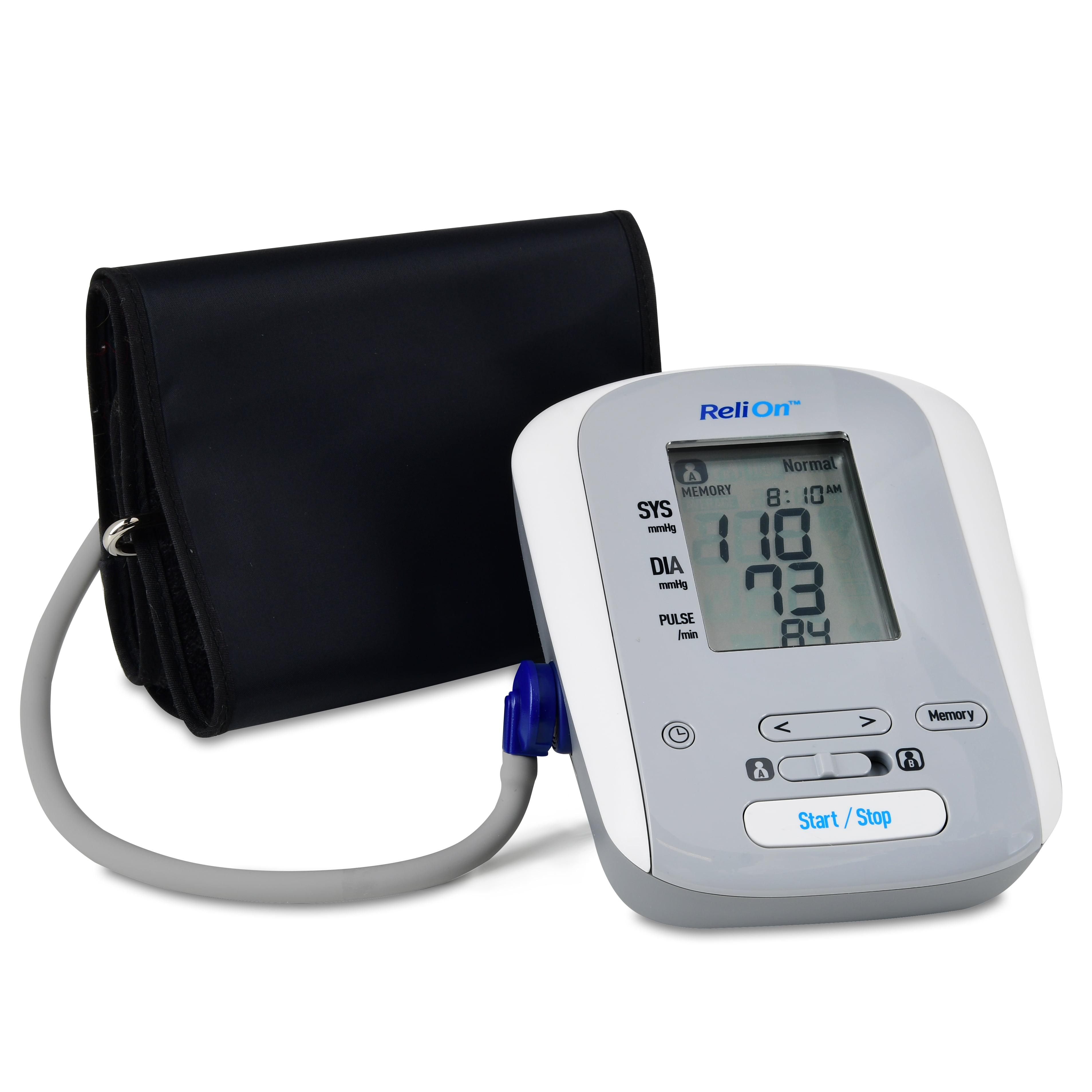 ReliOn BP200 Upper Arm Blood Pressure Monitor