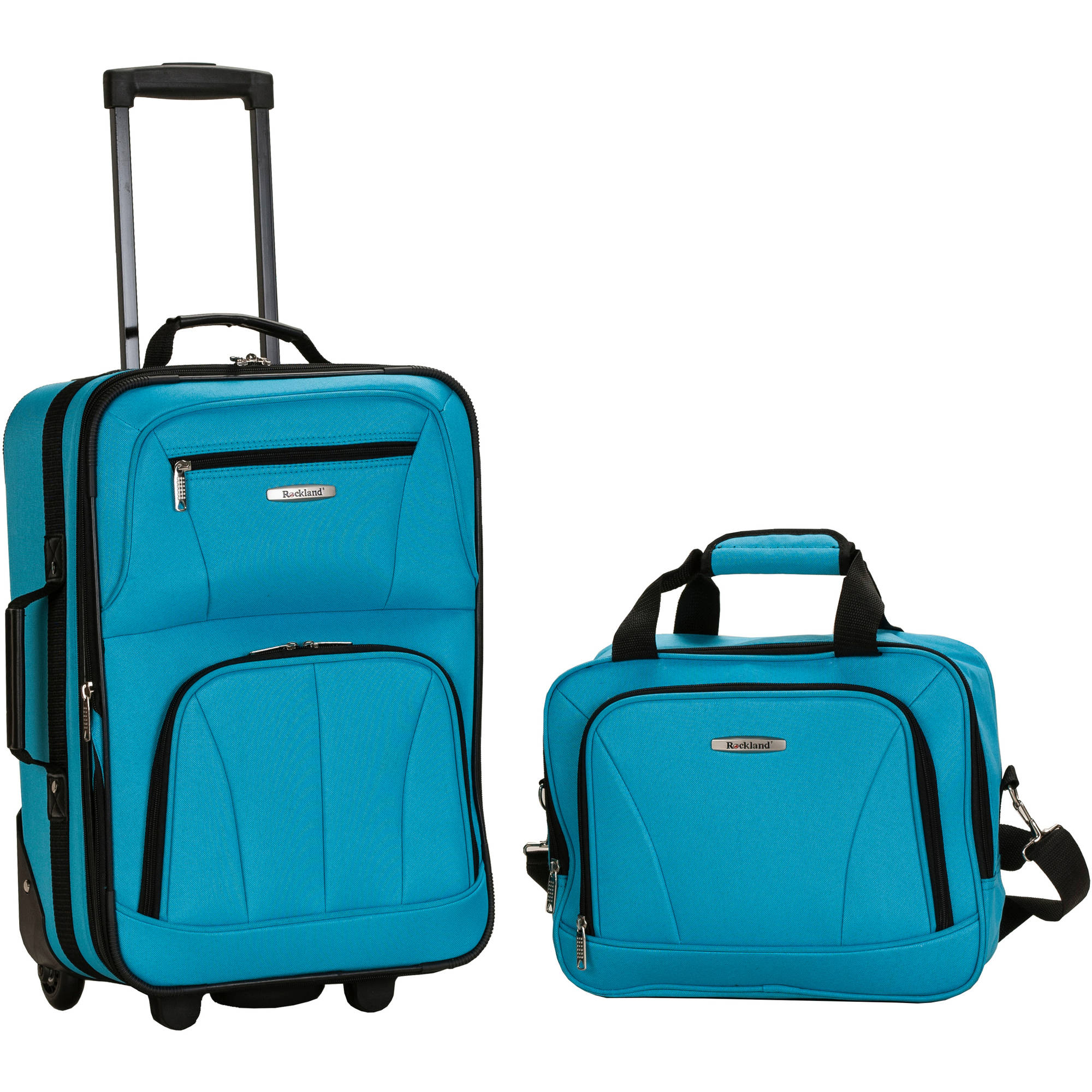 Rockland Luggage Rio 2-Piece Carry-On Luggage Set