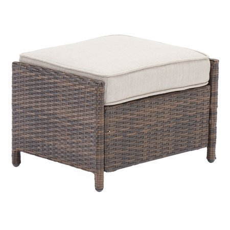 Better Homes & Gardens Mayers Bay 2-Piece Ottoman Set with Tan