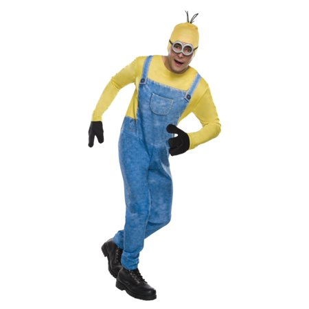 Mens Minion Kevin Despicable Me Halloween Costume Large (36-38) - Minions Despicable Me Halloween Costumes