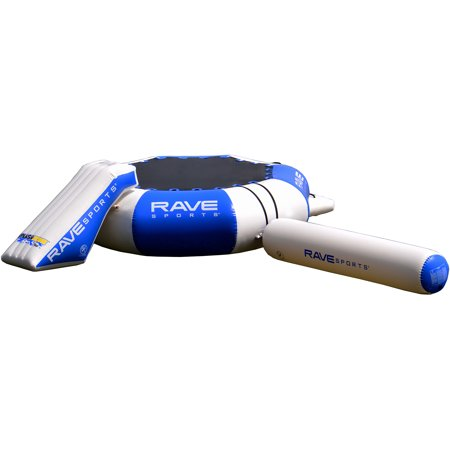 Rave Sports Splash Zone Plus 16' with Slide and Launch