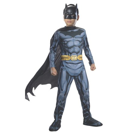 Halloween Batman Photo Real Child Costume](Batman Costume Child)