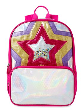 Wonder Nation Metallic Star Backpack