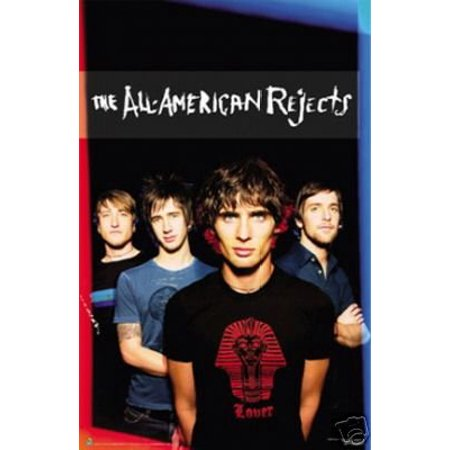 (23X36) All American Rejects Group Music Poster Print New
