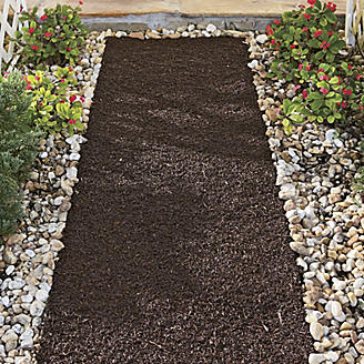 Six Foot Recycled Rubber Reversible Mulch Pathway (Best Price On Mulch)