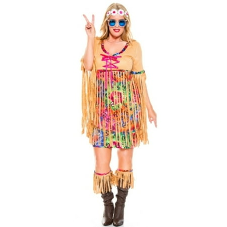 Queen Retro Hipster Costume Music Legs 70806Q Multi Color