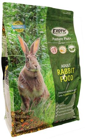 Adult Rabbit Food 10 lb. by Exotic Nutrition
