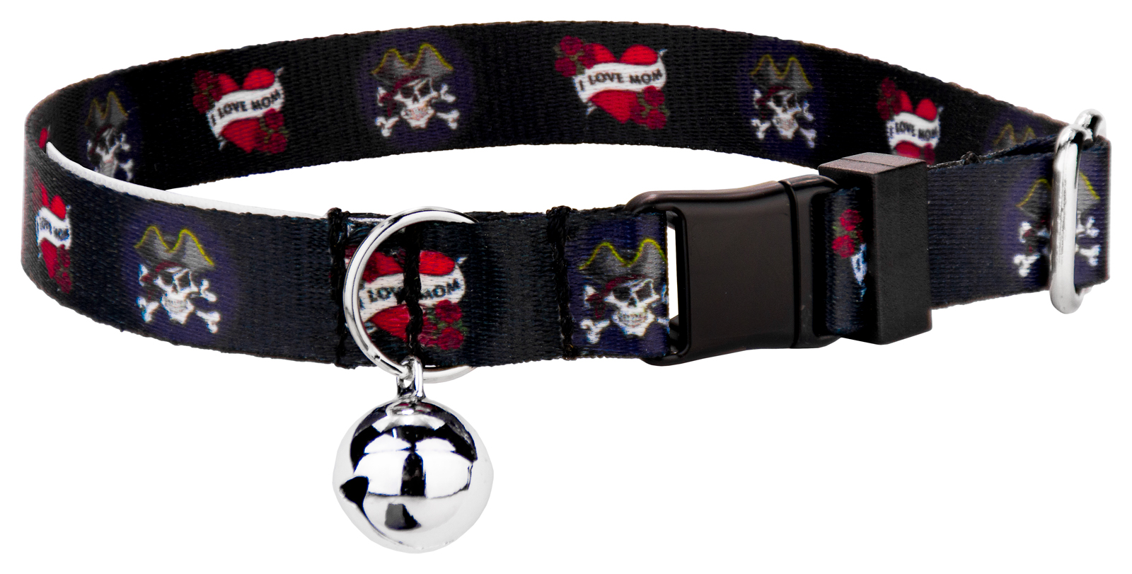 Country Brook Petz I Love Mom Featherweight Cat Collar by Country Brook Design
