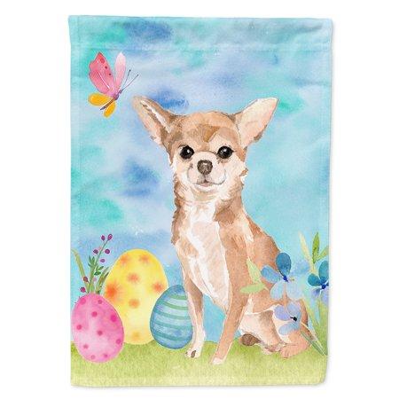 Chihuahua Garden Flag - Chihuahua Easter Garden Flag
