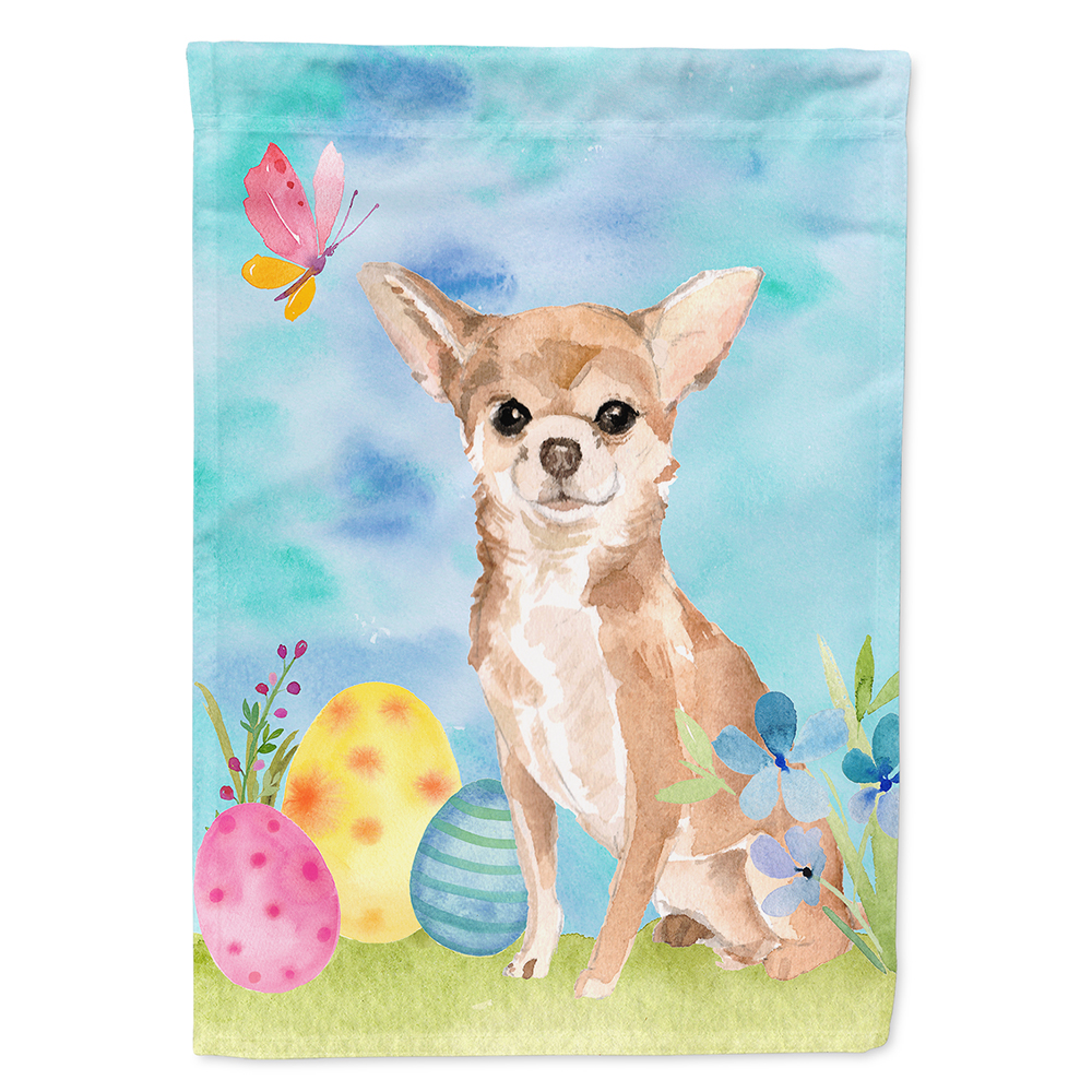 Chihuahua Easter Garden Flag