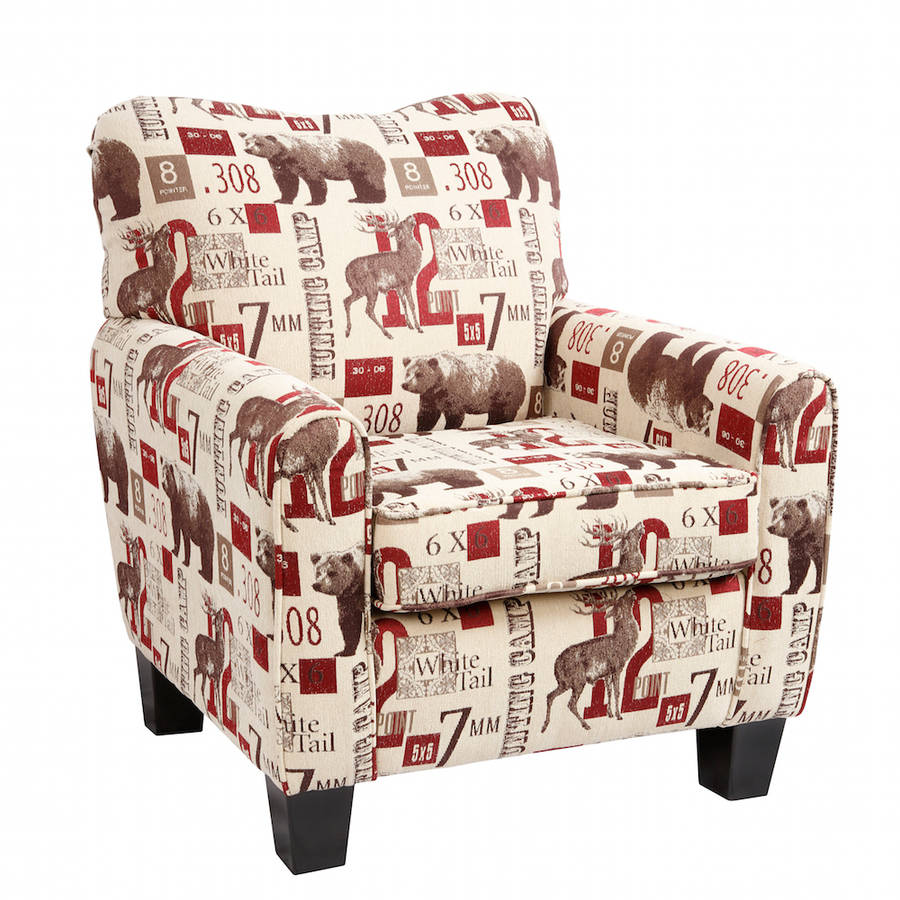 American Furniture Classics Caliber Hunting Camp Club Chair by American Furniture Classics