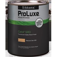 Sikkens SIK240-078.01 1 Gallon Cetol SRD Exterior Wood Finish Translucent - Natural 078