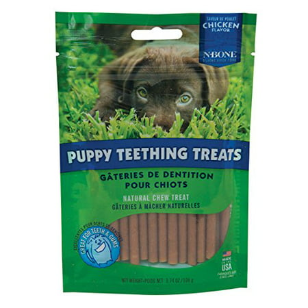 N-Bone Puppy Teething Treat 3.74 oz Size:Pack of 2](Puppy Chow Halloween Treat)
