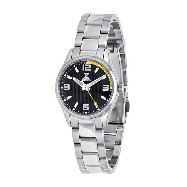 NobelWatchCo EZ 622 LB Stainless Ladies Watch
