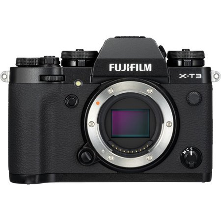 Fujifilm X-T3 Mirrorless Digital Camera (Body Only) - Black -