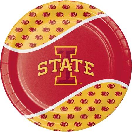 IOWA STATE CYCLONES Iowa Hawkeyes Plate